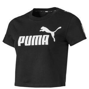 PUMA Crop-Top All Black